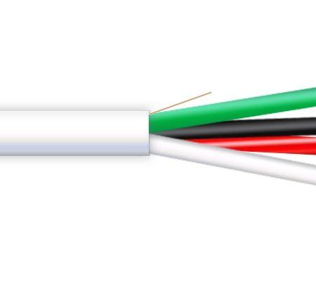4407 - 12 AWG 4/C OFC-Oxygen Free Copper CMR Premium Audio Cable