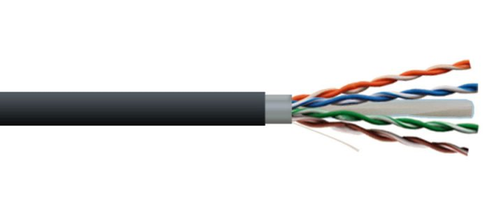 Premium Cat 6A + Direct Burial Ethernet Cable