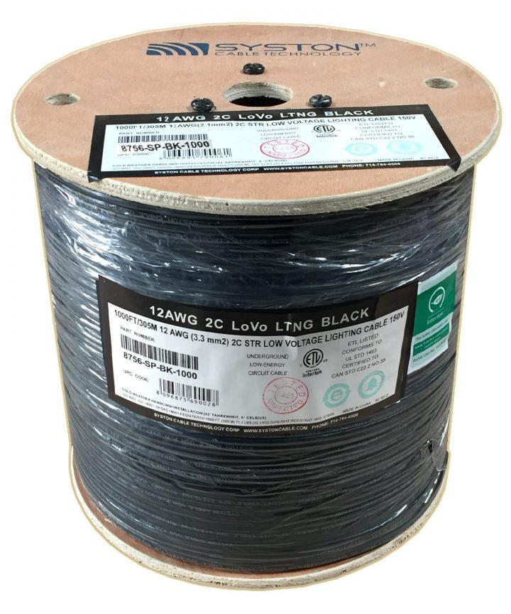 1000-foot reel of premium landscape lighting wire