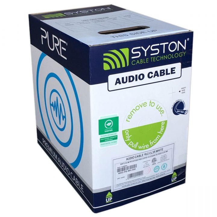 Premium audio cable from Syston Cable Technology