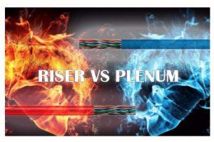 riser vs plenum